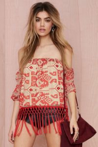 Pattern Top / Boho Dresses