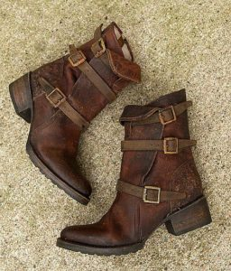 Ankle Fit Boots / Boho Dresses