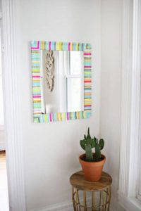 Decorated Wall Mirror