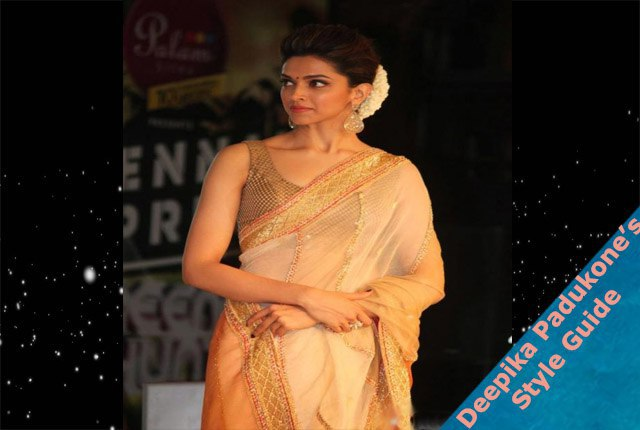 How Look Stunning In Saree Like Deepika Padukone|Style ...