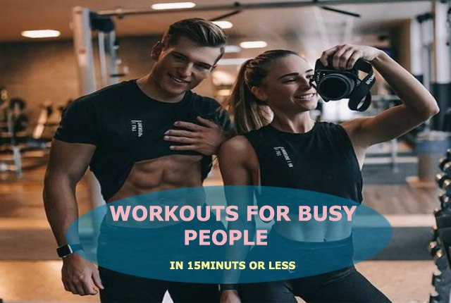 Top Health And Fitness Tips For Men And Girls With Busy Routine