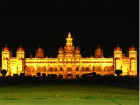 mysore palace tourist place in india