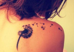 Small Shoulder Tattoos for Females