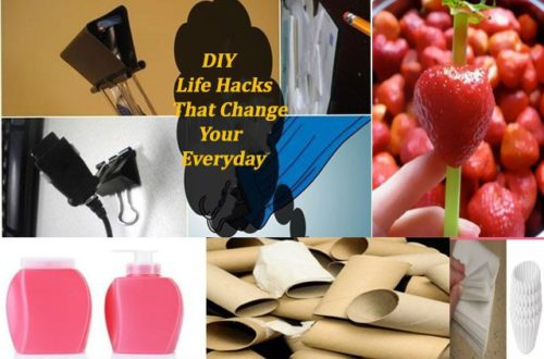 Simple DIY Tips Ideas and guides To Make Your Everyday Life Easy