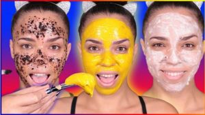 Different homemade face pack for dry skin
