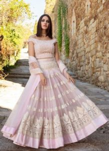 Indo western Dresses for Engagement