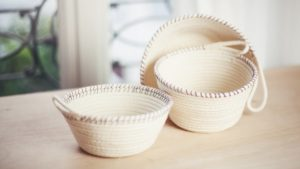 How to make basket at home