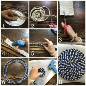 how to make fabric basket