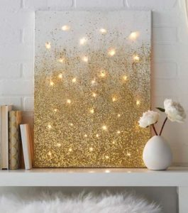 DIY Gold Room Decor