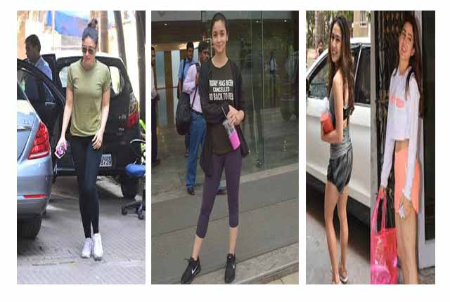 gym look of bollywood celebs