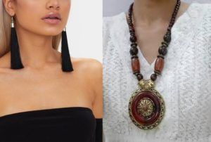 Jewellery for Indo-western dresses