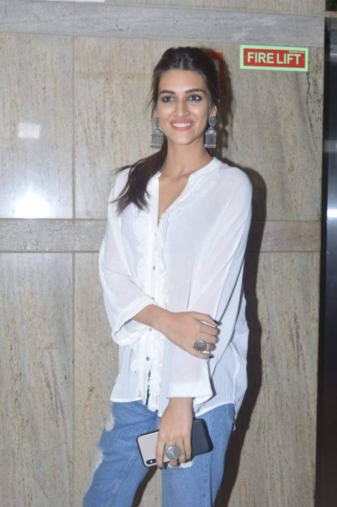 Jhumka with Jeans