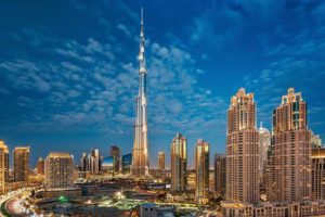 Burj Khalifa Hottest tourist destination of Dubai