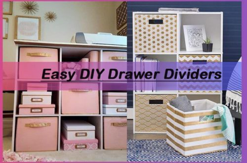 diy drawer organizer tips, ideas and guides