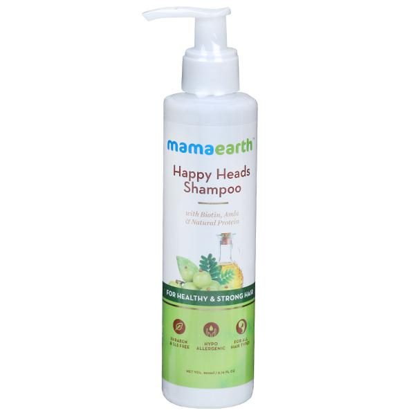 Mamaearth's Happy Heads Shampoo