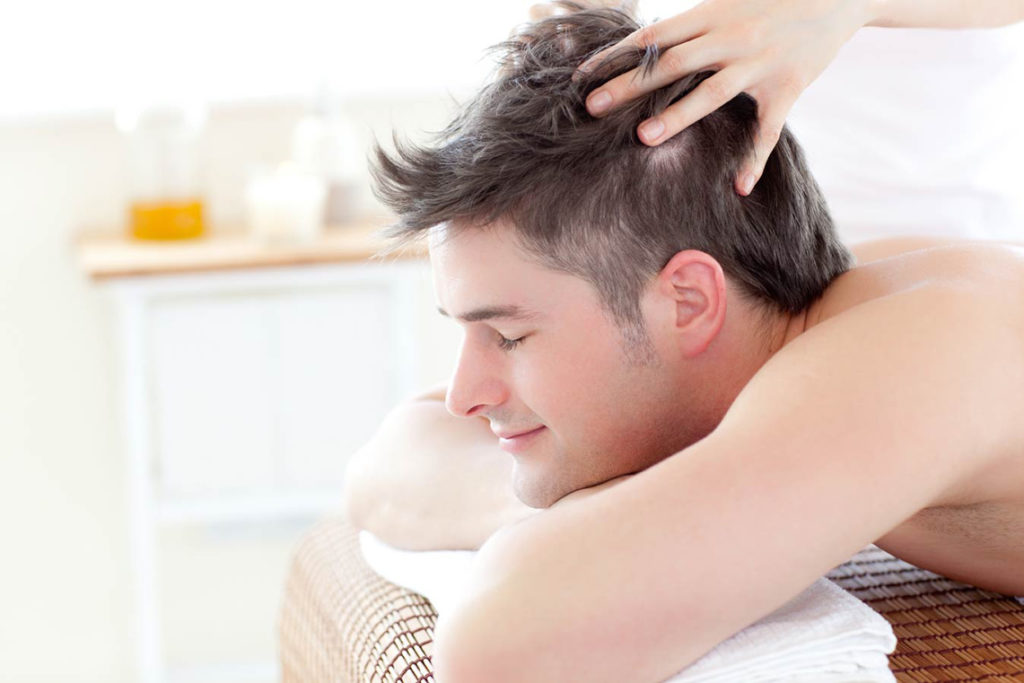 stop hair fall in men